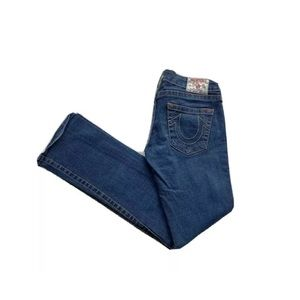 True Religion Johnny Bootcut Low Rise Stretch Jean